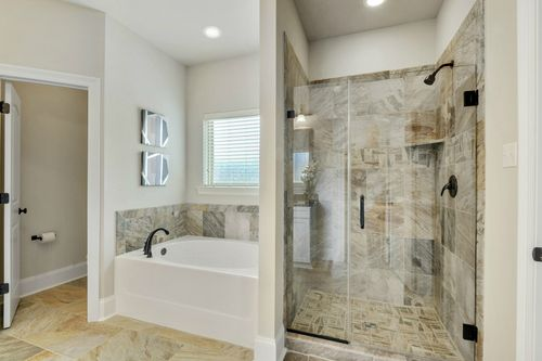 Northern Oaks - Model Home Master Bathroom - DSLD Homes - Renoir III B - Pass Christian, MS