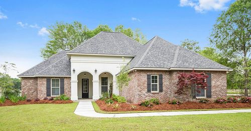 Spring Lakes - Model Home Exterior - DSLD Homes - Deacon IV A - Covington, LA