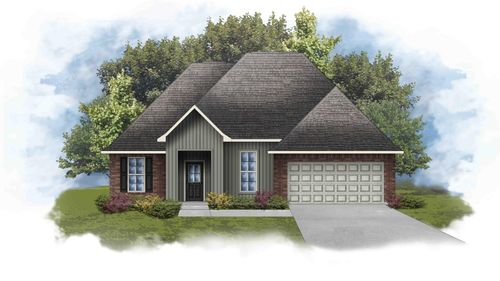 Rowland IV I - Front Elevation - DSLD Homes