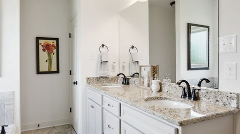 Sugar Ridge Model Home Master Bathroom - Sugar Ridge Community - DSLD Homes - Lafayette