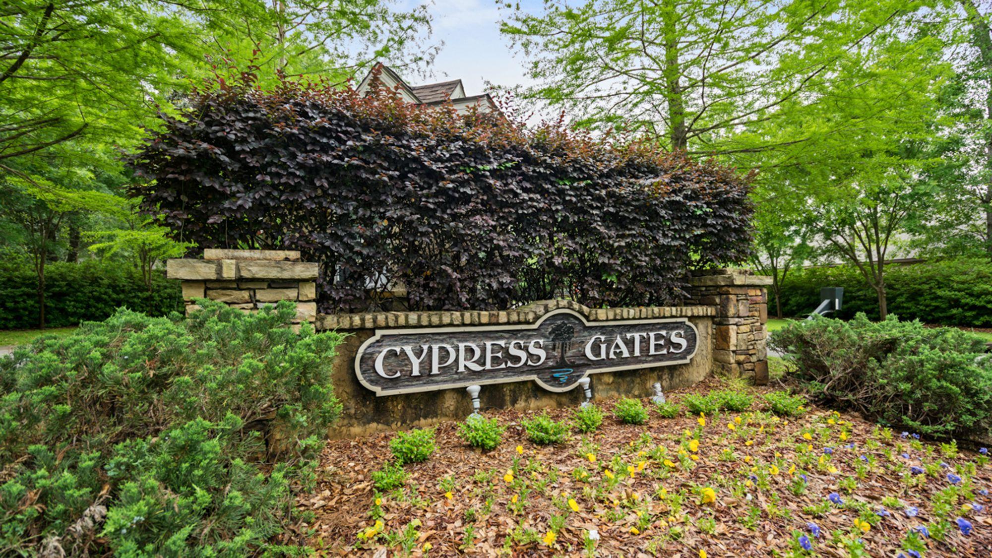 Community Sign - DSLD Homes - Foley - Cypress Gates