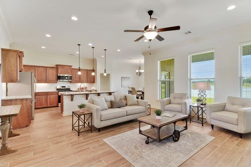 The Reserve at Conway - Model Home Living Room - DSLD Homes -  Klein II B - Gonzales, LA