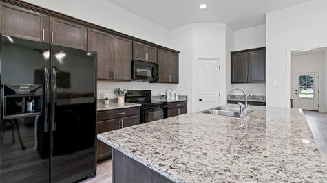 Moss Cove - Troy III G Floorplan - Kitchen - Thibodaux, LA