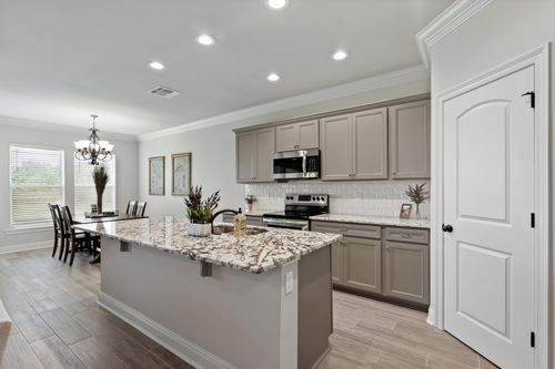 Cypresswood Village - Model Home Kitchen - DSLD Homes - Orange, TX