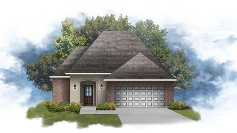 Beringer IV A - Front Elevation - DSLD Homes