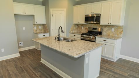 Beauclaire Move-In Ready Kitchen - DSLD Homes - Shreveport