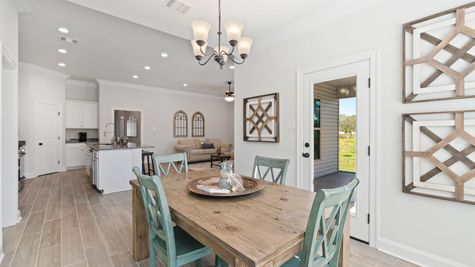 Model Home Dining Room- Talon Estates - Broussard, Louisiana - DSLD Homes