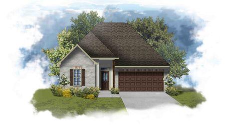 Trevi III B - PB - Front Elevation - DSLD Homes