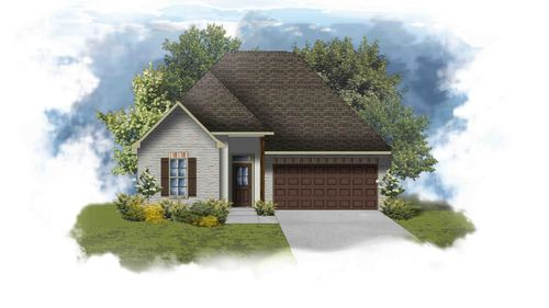 Trevi III B - PB - Front Elevation - DSLD Homes