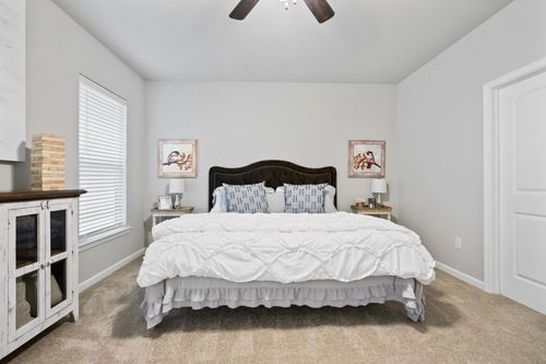 Simpson Farms Model Home Master Bedroom - Cary IV H Floor Plan - DSLD Homes - Covington, LA