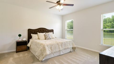 Master Suite - Hunters Trace - DSLD Homes Baton Rouge