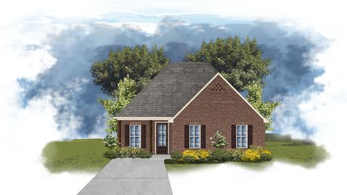 Giorgio II A - Front Elevation - DSLD Homes