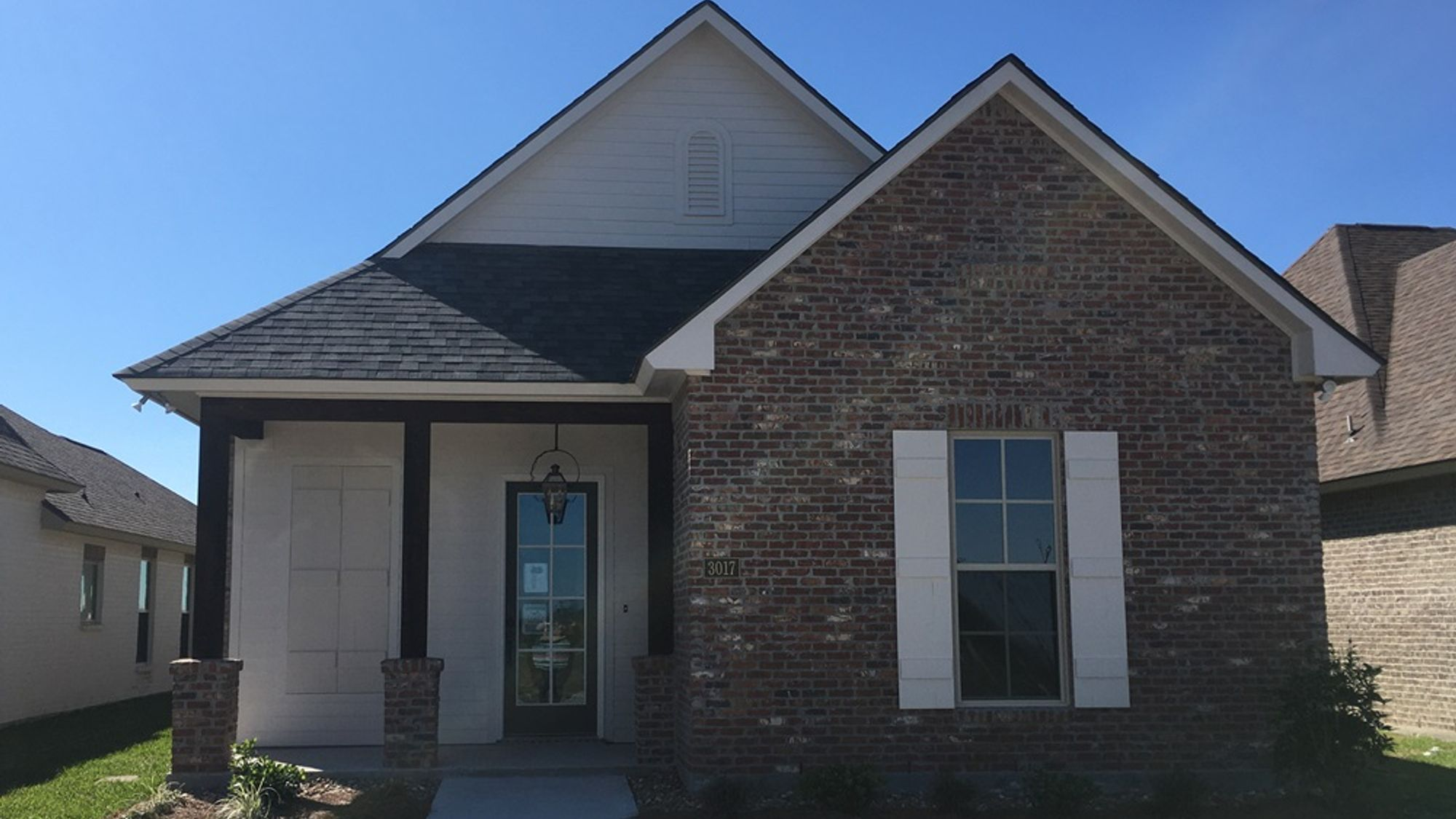 TOLEDO III C Elevation- Front View – THE VILLAGE AT MORGANFIELD Community - DSLD Homes - LAKE CHARLES, LA