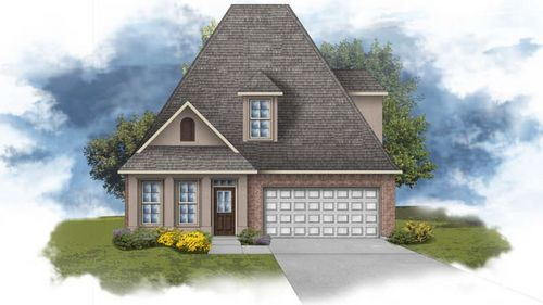 Canna III B - Front Elevation - DSLD Homes