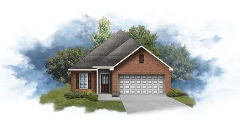 Creswell III H - Front Elevation - DSLD Homes