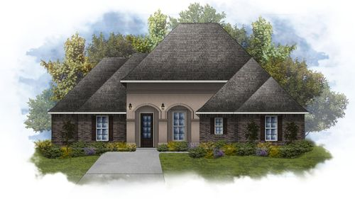Dupre IV A - Open Floor Plan - DSLD Homes