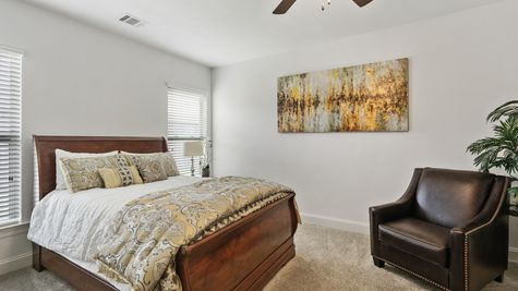 Sugar Ridge Model Home Master Bedroom - Sugar Ridge Community - DSLD Homes - Lafayette
