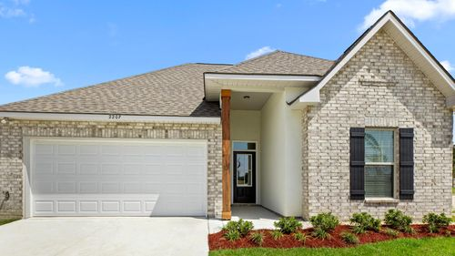Cypress Bend - DSLD Homes - Baton Rouge, LA - Model Home Exterior