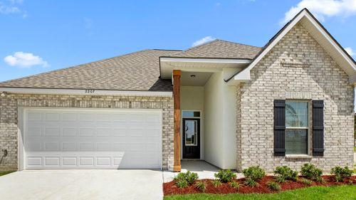 Cypress Bend - DSLD Homes - Baton Rouge, LA - Model Home Exterior