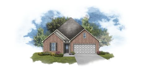 Shefford IV A - Front Elevation - DSLD Homes