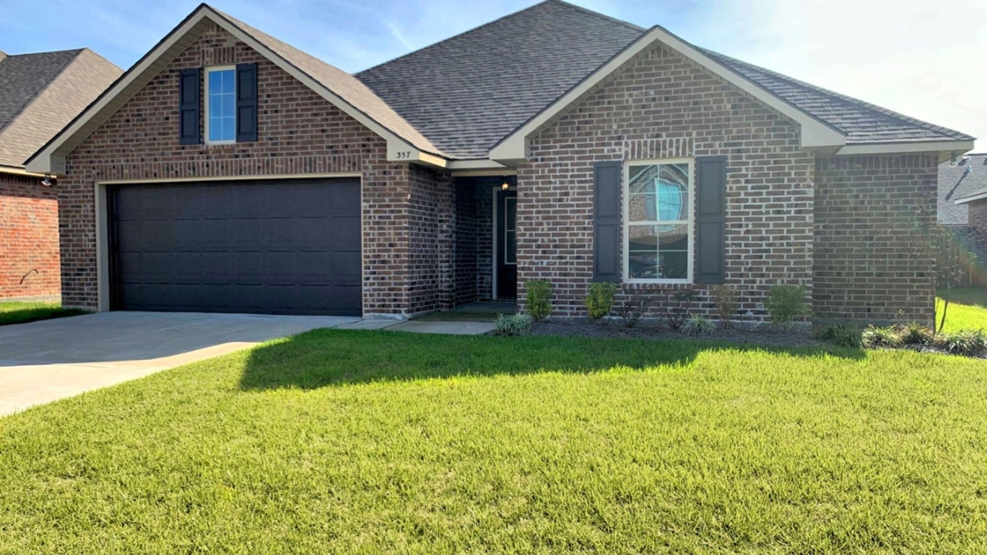 Front View - Hudson III A - Belle Savanne Community - DSLD Homes - Sulphur