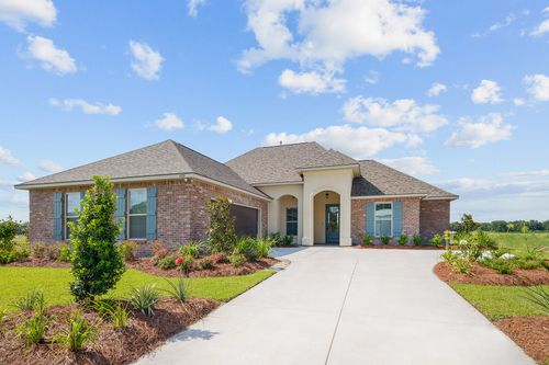 The Reserve at Conway- Model Home Exterior - DSLD Homes - Klein II B - Gonzales, LA