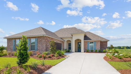 The Reserve at Conway Model Home Exterior - The Reserve at Conway Community - DSLD Homes - Baton Rouge