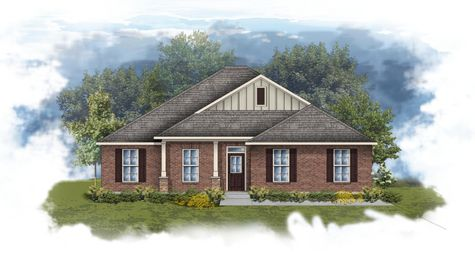 Rosita III B - Front elevation - Open floor plan