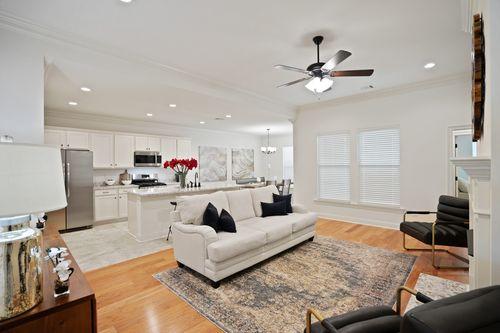 Pelican Crossing - Model Home Living Room - DSLD Homes - Cognac IV B - Gonzales, LA