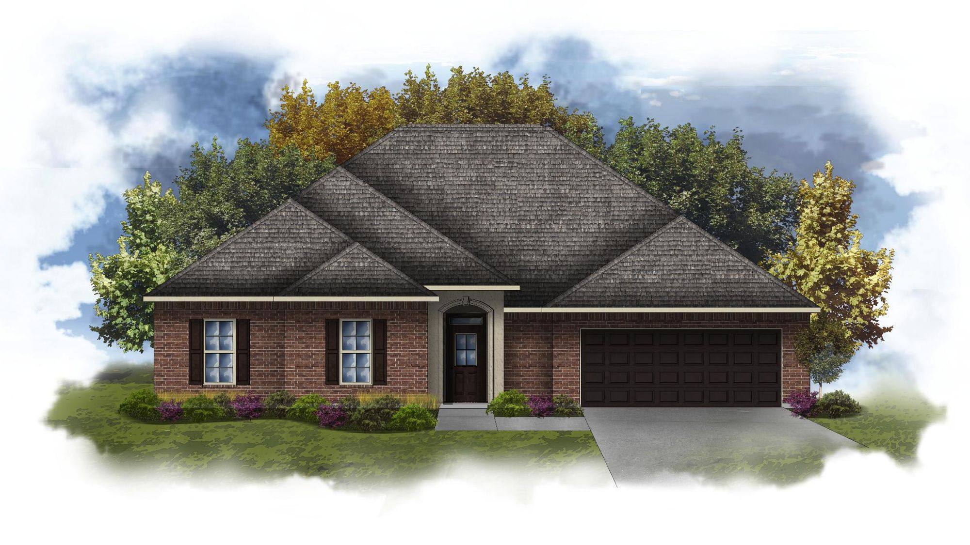 Coolidge III B - Open Floor Plan - DSLD Homes