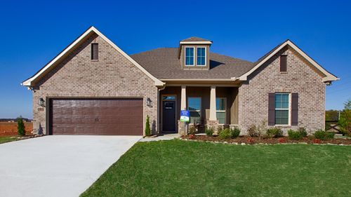 Parkside - Colebrook II A - DSLD Homes - Meridianville, AL - Model Home Exterior