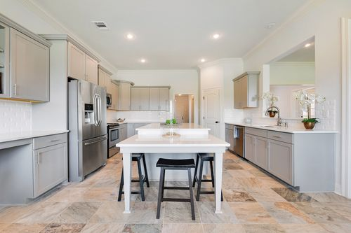 Paige Place - Model Home Kitchen - DSLD Homes - Renoir III D - Broussard, LA