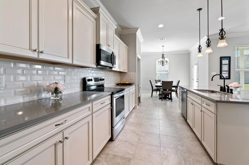 The Cove at Morganfield - Model Home Kitchen - Ketty II A - Lake Charles, LA