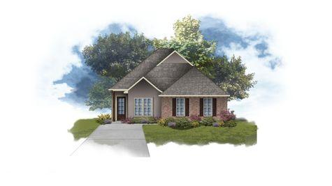 DSLD Homes - Aubry II B Open Floor-Plan Elevation Image