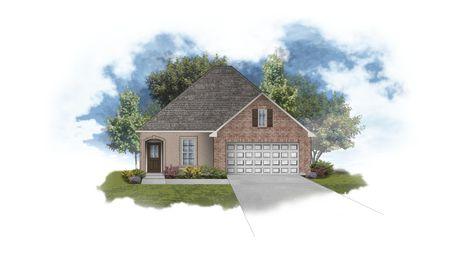 Banbury III A Open Floor Plan - DSLD Homes