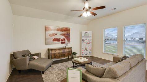 Living Room - Summerview - DSLD Homes Lafayette