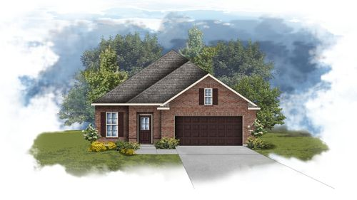Branford II A - Open Floor Plan - DSLD Homes