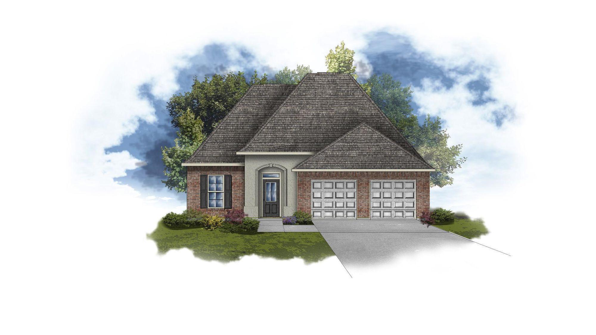 Nerine IV A - Open Floor Plan - DSLD Homes