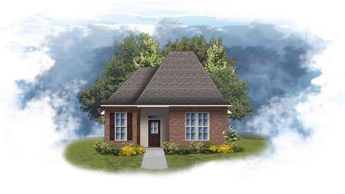 Greys II A - Front Elevation - DSLD Homes