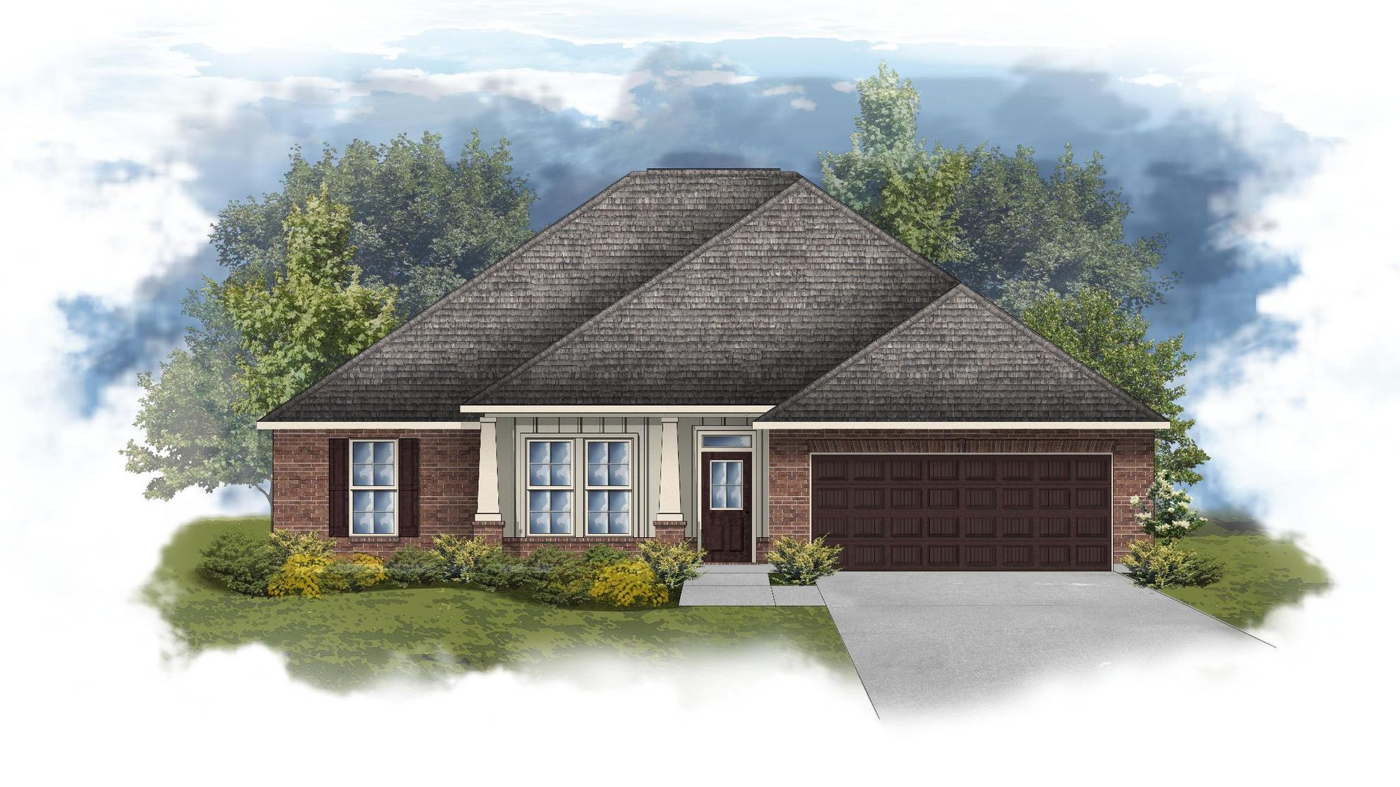 Ionia II A - Open Floor Plan - DSLD Homes