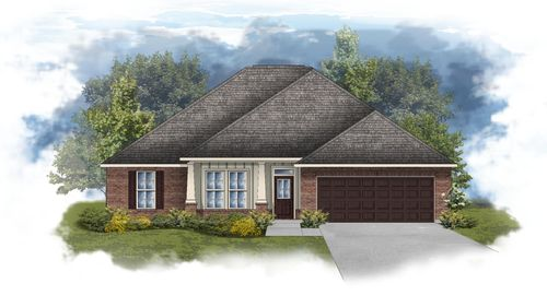 Ionia II A - Open Floor Plan - DSLD Homes