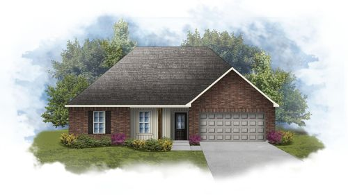 Norman III I - Front Elevation - DSLD Homes