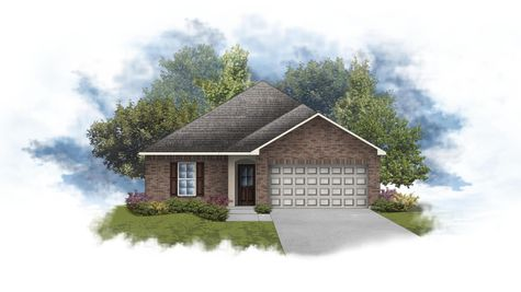 Plymouth III A - Front Elevation - DSLD Homes