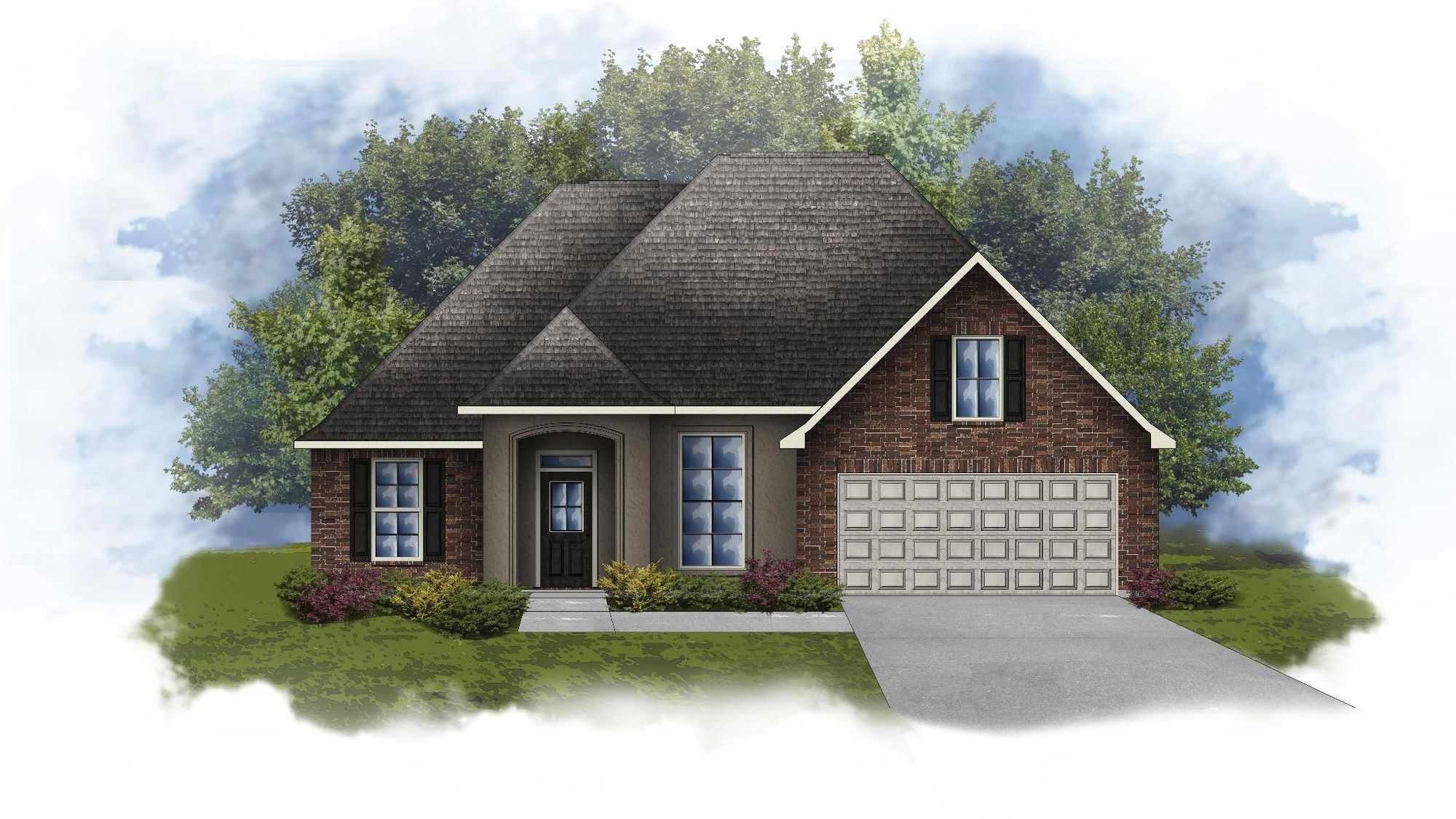 Reims IV A - Open and Split Floor Plan - DSLD Homes