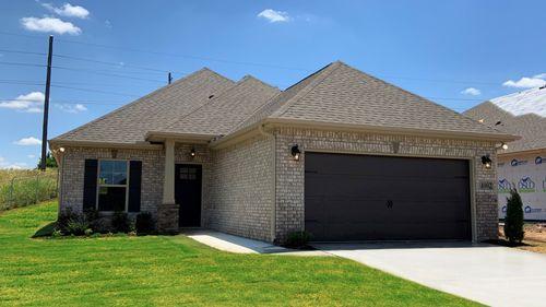 Caldwell III A Huntsville - Open Floor Plan - DSLD Homes - Front Elevation