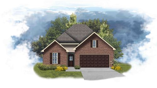 Cedar III B - Front Elevation - DSLD Homes