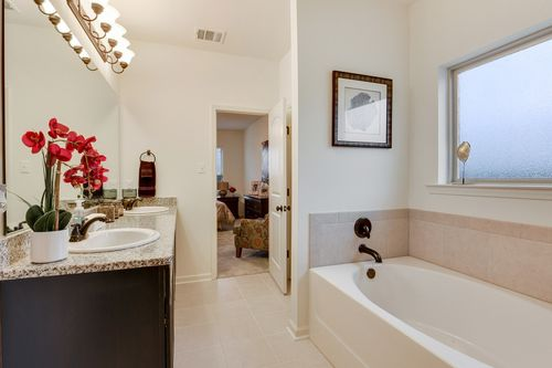 Summerview - Model Home Master Bathroom - DSLD Homes - Longridge IV A - Duson, LA