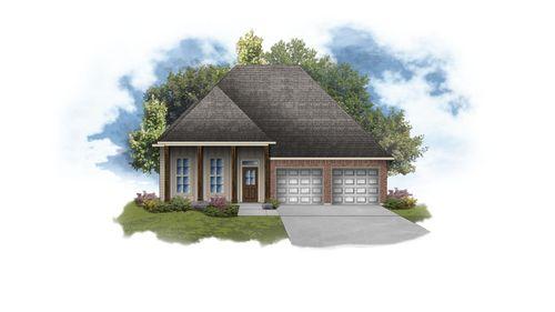 Violet III G - Front Elevation - DSLD Homes