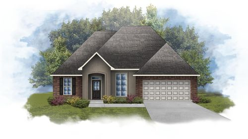 Reims IV C - Front Elevation - DSLD Homes