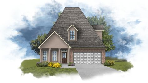 Copeland III A - Front Elevation - DSLD Homes